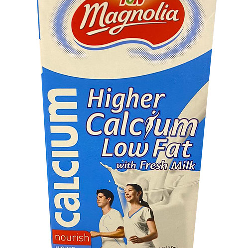 F&N Magnolia UHT Milk - Higher Calcium Low Fat 1L