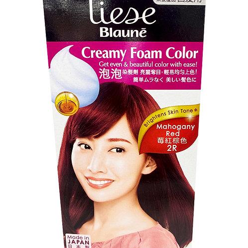 Liese Blaune Creamy Foam Colour - Mahogany Red (2R)