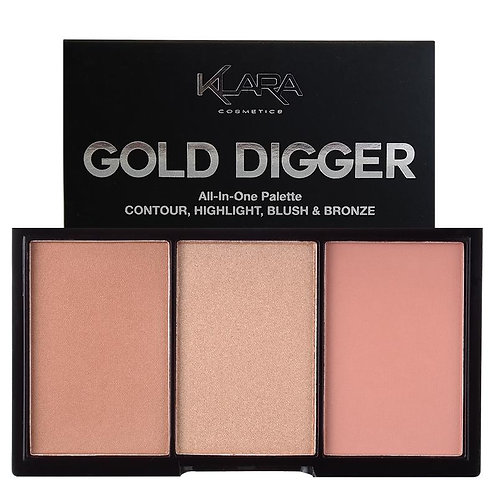 All-In-One Palette - Gold Digger