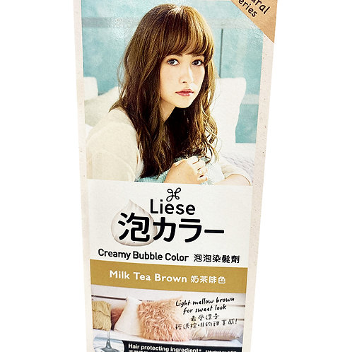 Liese Creamy Bubble Hair Colour - Milk Tea Brown