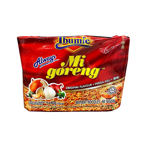 Ibumie Mi Goreng Instant Noodles - Original 80g