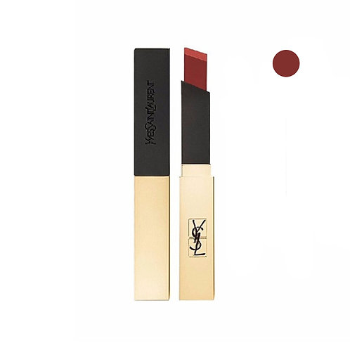 Ysl Rouge Pur Couture The Slim Leather Matte Lipstick #09 Red Enigma (2.2G)