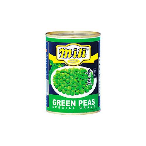 Mili Premium Grade Green Peas 379g