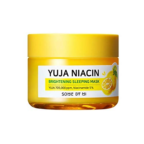 Some By Mi Yuja Niacin 30 Days Miracle Brightening Sleeping Mask 60G