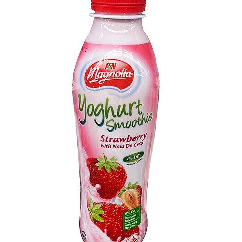 F&N Magnolia Yoghurt Bottle Smoothie - Strawberry & NatadeCoco 800ml