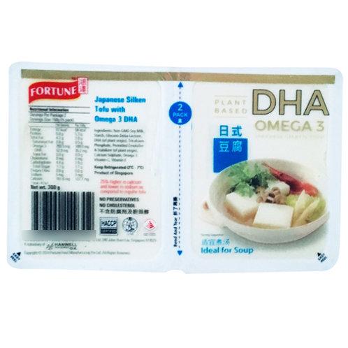 Fortune Japanese Silken Tofu - Omega 3 DHA 300g