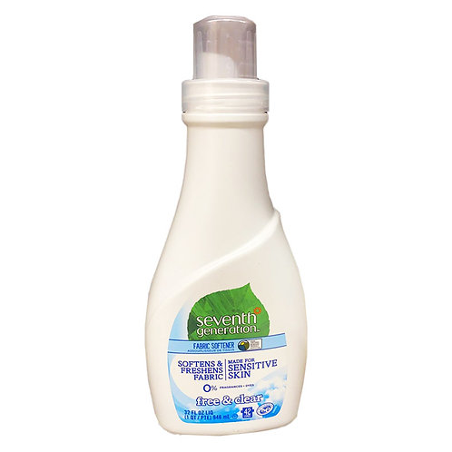 Seventh Generation Fabric Softener - Sensitive Free & Clear 946ml