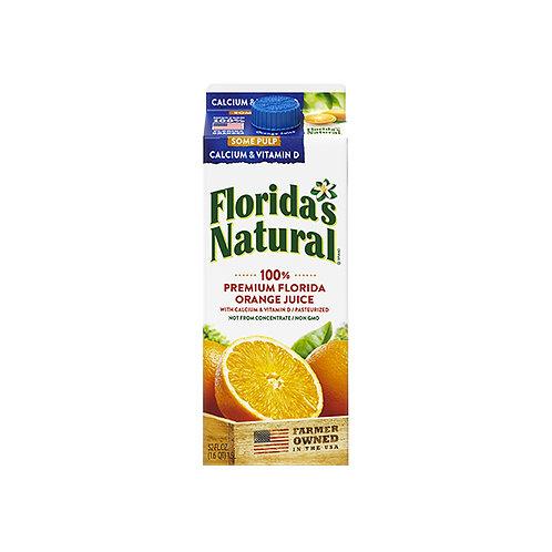 Florida's Natural 100% Orange Juice - Pulp & Calcium 1.5L