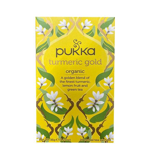 Pukka Tea Bags - Turmeric Gold 20 per pack