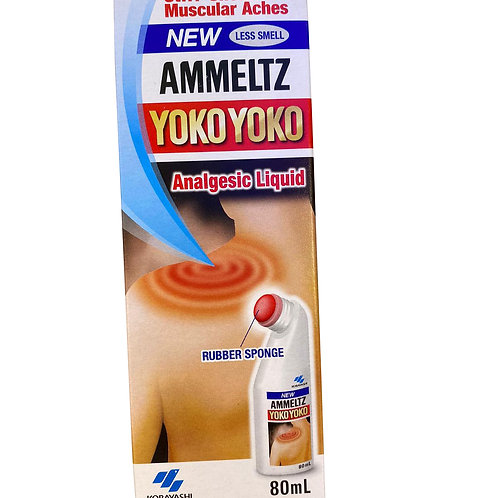 Ammeltz Yoko Yoko Analgesic Liquid - Less Smell 80ml