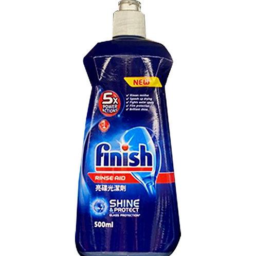 Finish Rinse Aid Dishwasher - Shine and Protect 500ml