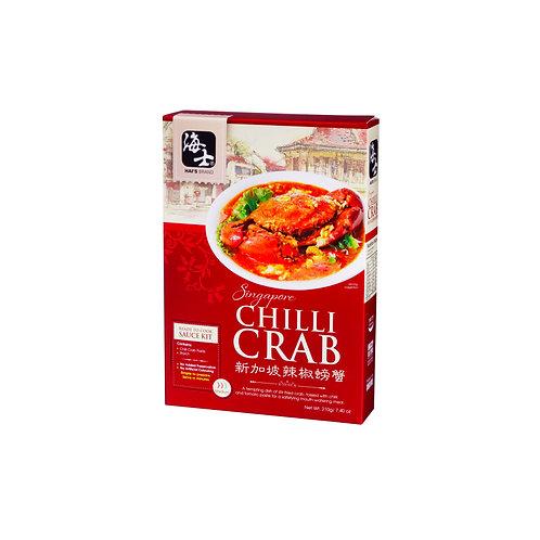Hai's Singapore Ready to cook sauce kit - Chili Crab 214g