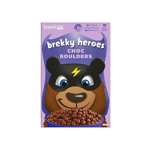 Freedom Foods Brekky Heroes Cereal - Choc Boulders 260g