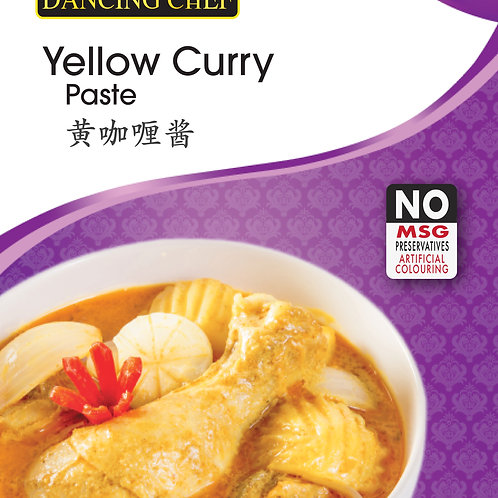 Dancing Chef Paste - Yellow Curry 100g
