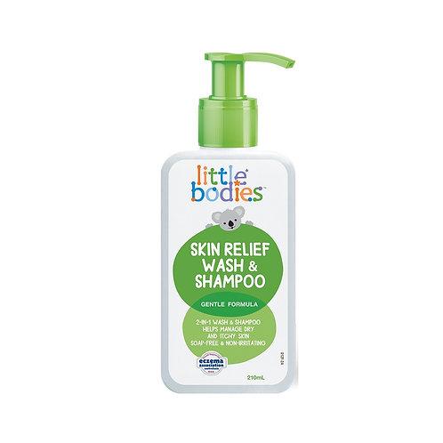 Little Bodies Skin Relief Wash & Shampoo 210Ml