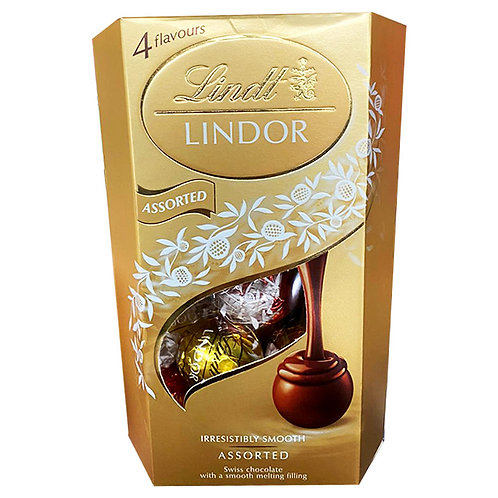 Lindt Lindor Cornet Chocolate Balls - Assorted 200g