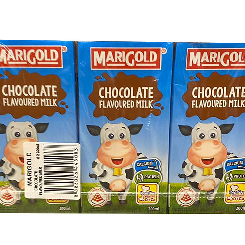 Marigold UHT Packet Milk - Chocolate 6 x 200ml