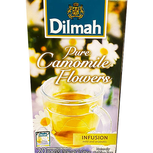 Dilmah Infusion Pure Tea Bags - Camomile Flower 30g (20 per pack)