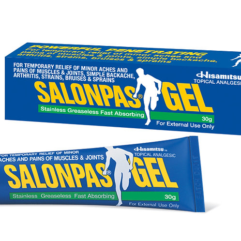 Salonpas Temporary Pain Relief Gel 30g