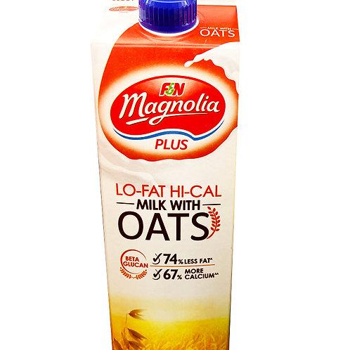F&N Magnolia Plus Lo-Fat Hi-Cal Milk - Oats 1L