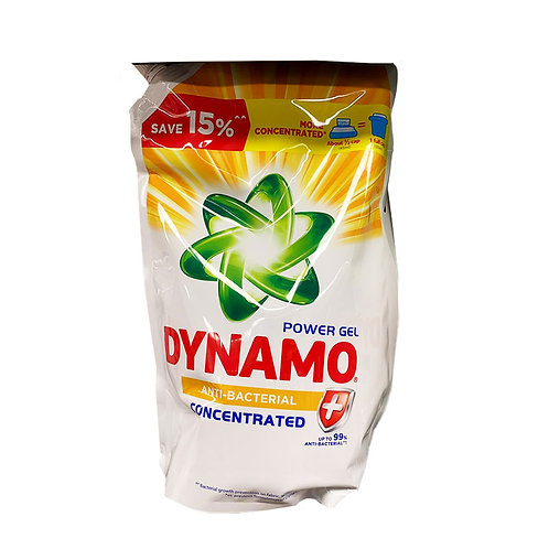 Dynamo Power Gel Laundry Detergent Refill - Anti-bacterial 1.44L