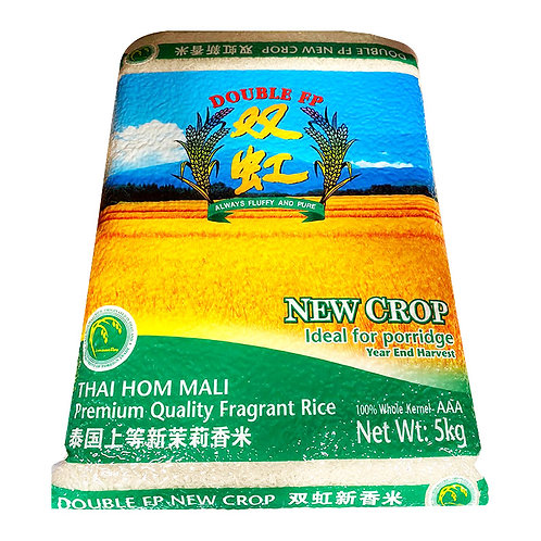 Double FP Thai Hom Mali Premium Quality Fragrant Rice - New Crop 5KG