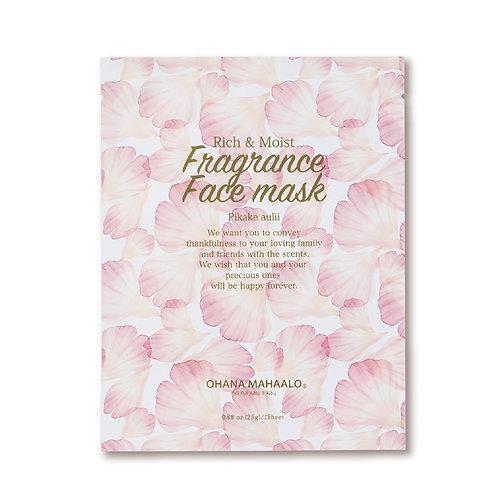 Fragrance Face Mask - Pikake Aulii