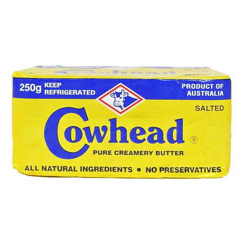 Cowhead Block Butter - Salted 250g