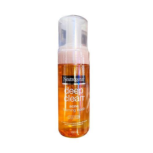 Neutrogena Deep Clean Foaming Wash - Acne 150ml