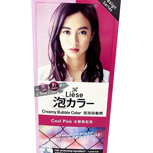Liese Creamy Bubble Hair Colour - Cool Pink