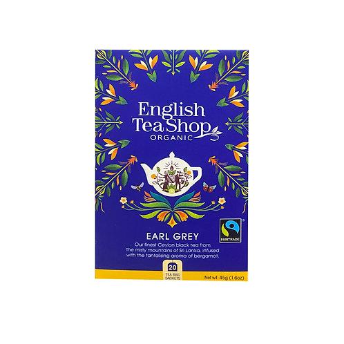 English Tea Shop Organic Tea - Earl Grey 20pcs (45g)