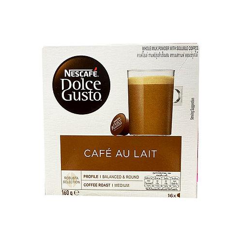 Nescafe Dolce Gusto Beverage Capsules - Cafe Au Lait 16 x 10g