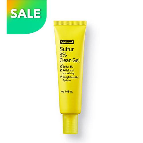 Bywishtrend Sulfur 3% Clean Gel