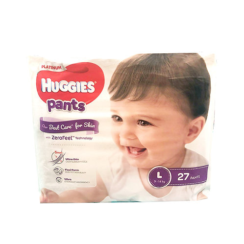 Huggies Platinum Pants - L (9 - 14kg)