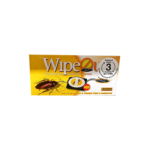 Wipeout Cockroach Control System 6 per pack