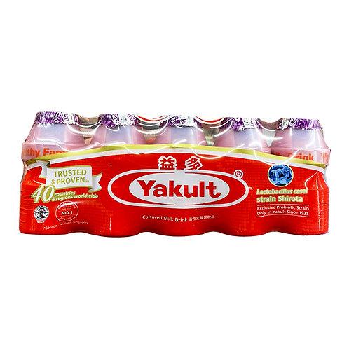 Yakult Cultured Milk Bottle Drink - Grape 5 x 100ml