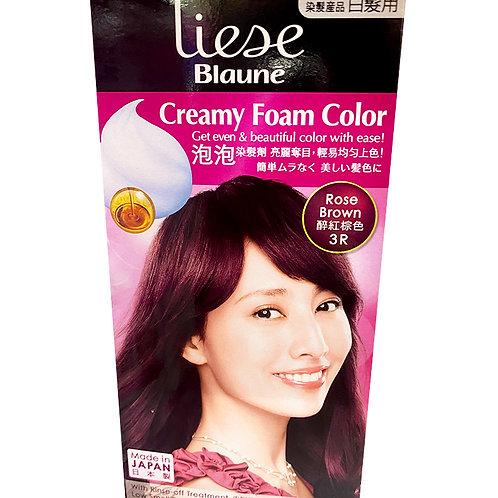 Liese Blaune Creamy Foam Colour - Rose Brown (3R)