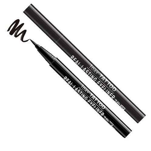 Real Lasting Waterproof Eyeliner - Super Black