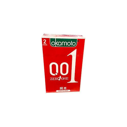 Okamoto Condoms - Zero One 2pc