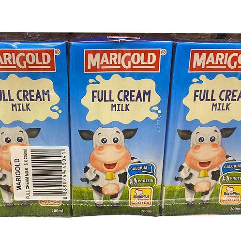 Marigold UHT Packet Milk - Full Cream 6 x 200ml