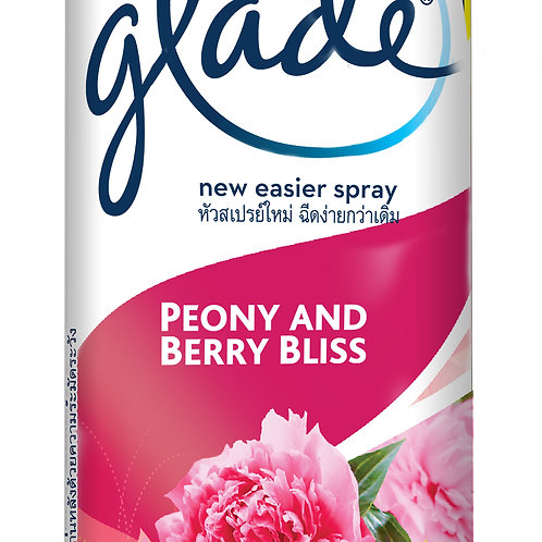 Glade Aerosol Spray Peony & Berry Bliss 320ml