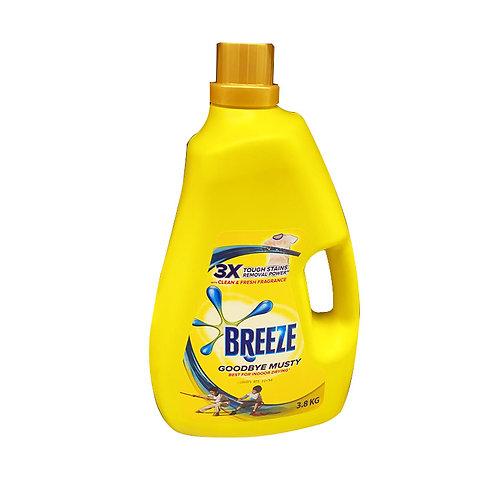 Breeze Liquid Detergent - Goodbye Musty (Indoor Drying) 3.8kg
