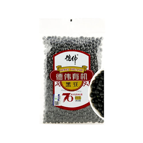 Dewei Organic Black Bean 400g