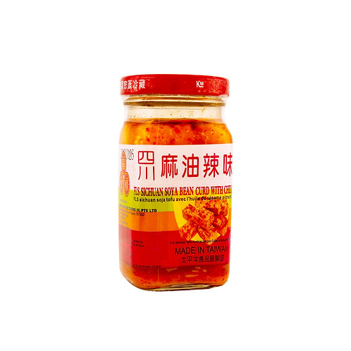FLS Sichuan Soya Beancurd Chili and Sesame Oil 130g