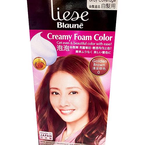 Liese Blaune Creamy Foam Colour - Golden Brown (0)
