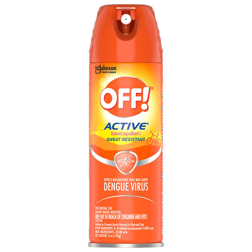 OFF! Active Insect Repellent Spray 170g