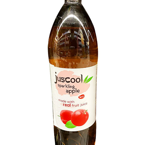 Juscool Sparkling Bottle Drink - Apple  1.5L