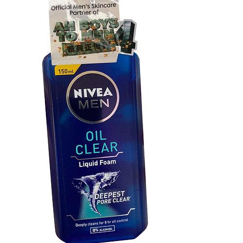 Nivea Men Liquid Foam Cleanser - Oil Clear 150ml