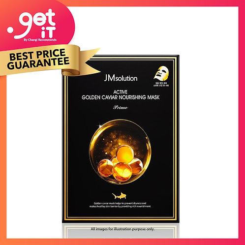 JM Solution Active Golden Caviar Nourishing Mask 10s