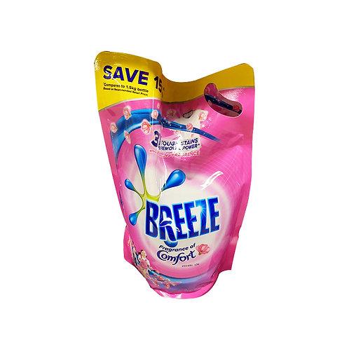 Breeze Liquid Detergent Refill - Comfort (Long Lasting Perfume) 1.5kg